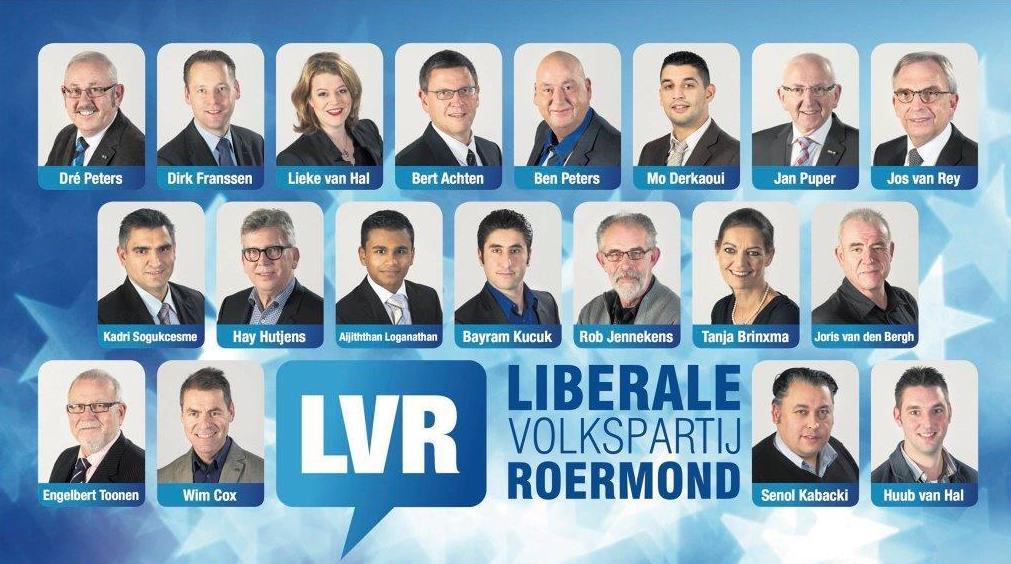 Afbeelding fractie en bestuur LVR 20161107